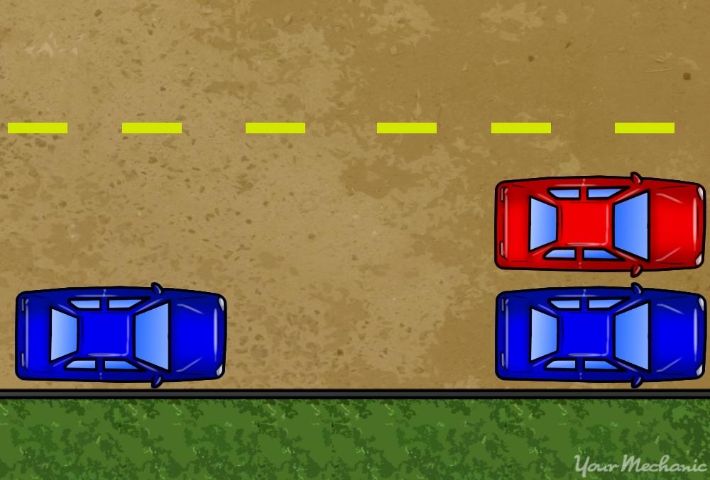 Parcarea laterala cu spatele