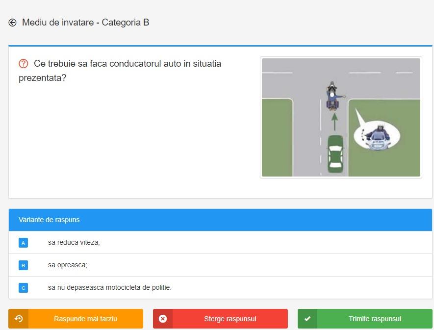 Chestionare auto DRPCIV 2020